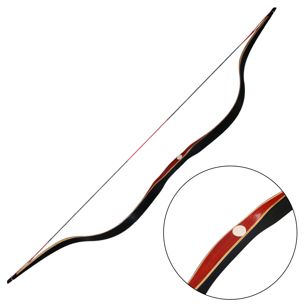 Toparchery 30-50Ibs Hunting Bow For Shooting Recurve Bow Laminated Bow For Hunting Target Shooting Outdoor
