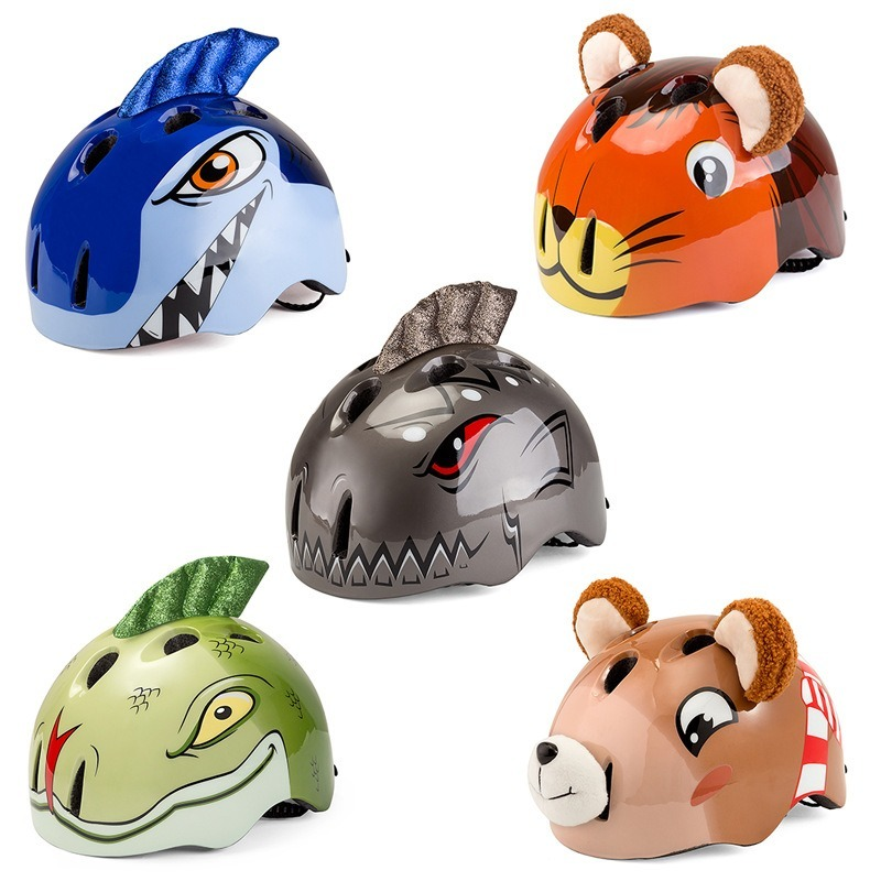 Children's Animal Helmets Bicycle Balance Bike Riding Helmet Mountain Bike Safety Helmet Protective Gear