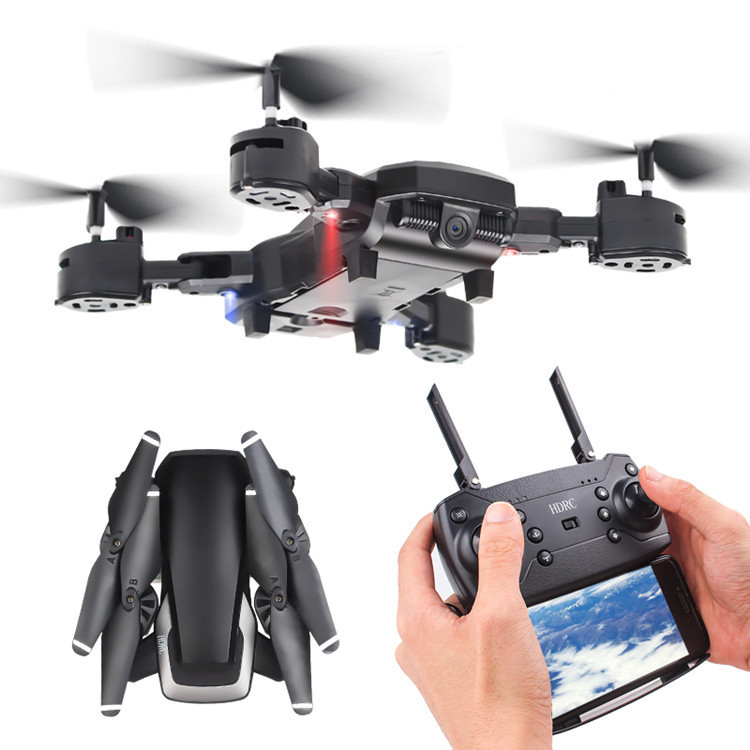 High-definition Profession Long Life Folding Unmanned Aerial Vehicle Pressure Set High Remote Control Aircraft Real-Time Aerial