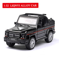 G500 Roadster Cross country Music Linghting 1:32 Simulated Alloy Car Toy Pull Back Hot Sale Car Model Toys for Children Boys Toy