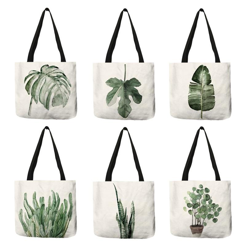 Welcome Fox Flower Garden Deluxe Printing Small Purse Portable Receiving Bag