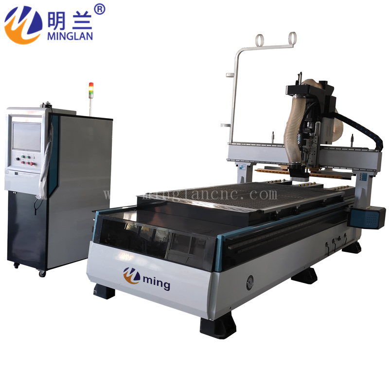 3D CNC Wood Router With 9kw Spindle