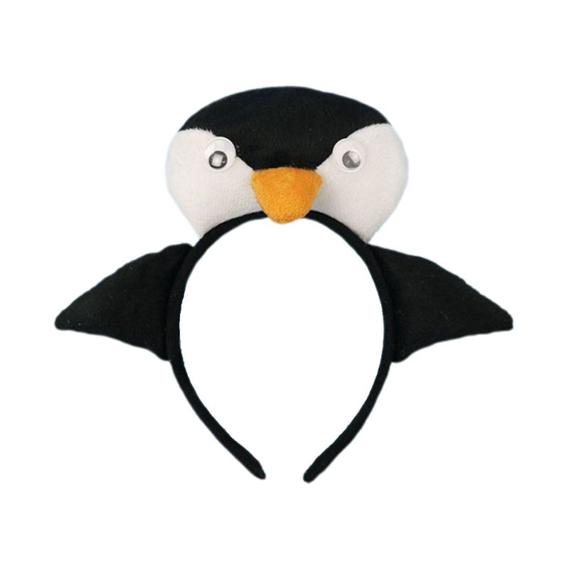 Halloween Festival Children Performance Props Headband Little Penguin Headbands Adult Masquerade Hair Accessories 449F