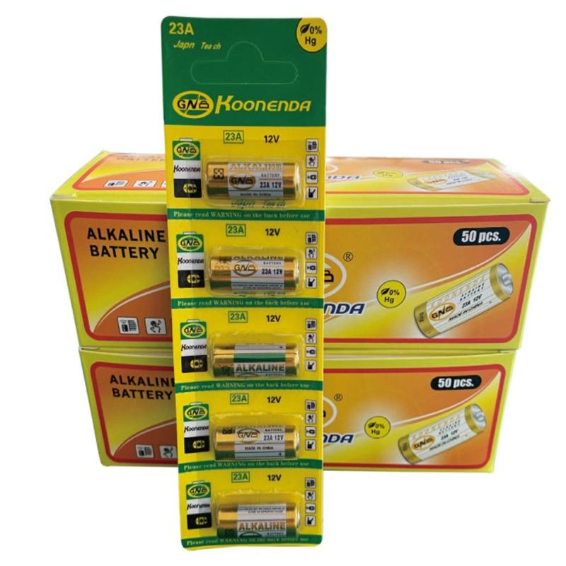 5 шт./1 упаковка 23A 12V щелочные батареи Ni-MH дистанционный дверной Звонок двери гаража A23 A-23 GP-23A RV08 LRV08 E23A V23GA