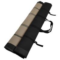 Foldable Fishing Rod Bag Fishing Pole Storage Case Orgaziner Bag Travel Fishing Handbag Tackle Bag Multifunctional Backpack|Fishing Bags| |  -