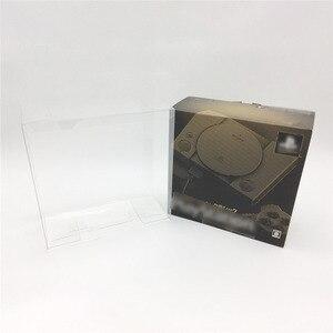 Image 1 - Şeffaf ekran Toplama Kutusu Sony PlayStation Klasik PS1 Mini Şeffaf Çoğaltma Koleksiyonu Kılıfı Kutusu