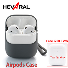 Silicone Case For Airpods Earphones Send i200 TWS For Free Protect Cover For i10 TWS Outdoor Waterproof Case Aripod Accessories цена 2017