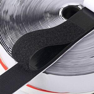 Velcros Self Adhesive Fastener Tape Hook Loop Magic Tape Round Magic Sticker White Black Round Coins Strong Glue 10/15/20/30mm