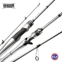 Kingdom Sliver Needle II Fishing Carbon Rods All FUJI Accessories Casting & Spinning UL/L/ML/L/MH High Quality Rods 1g 40g Lure