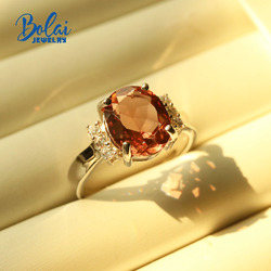 Bolai,Color change Diaspore ring oval 9*11mm created gemstone jewelry 925 sterling silver for women  best gift