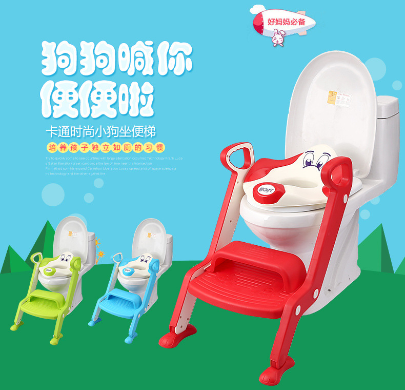 Special Approval Step-wise Toilet For Kids Chamber Pot Ladder Baby Folding Potty Ladder Children Auxiliary Chamber Pot Potty Lad