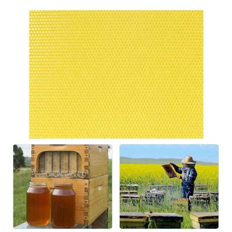 10/30 שעוות חלת דבש מסגרות טבליות גידול דבורים מעשי ועמיד פשטות גדולים קרן דבש כוורת ציוד כלי 13x9CM