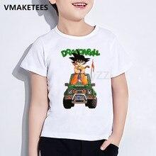 Dragon Ball Z Cool Son Goku Kids T Shirt Cute Cartoon Children Clothes Summer Baby Girls & Boys Anime Funny T shirt,HKP5070 harajuku anime dragon ball z dbz 3d print bulma goku flying tshirt men women casual kawaii t shirt boys blue t shirt 5xl clothes
