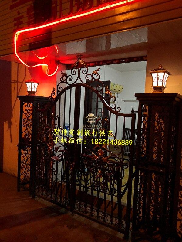 Aluminium Gates Driveway Gates Wrought Iron Gates Forged Iron Gates Hench-31