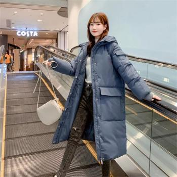 2020 Women Autumn Winter Jacket Coat With Pockets Hooded Down Cotton Long Parkas Winter Jacket Women Coat Outwear Female 2020 women autumn winter jacket coat with pockets hooded down cotton long parkas winter jacket women coat outwear female
