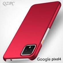 QZPC For Google pixel 4 4XL Case 2019 Luxury Silm Matte Back Cover 3 3A Lite XL 2 Cases Coque Plain Hard