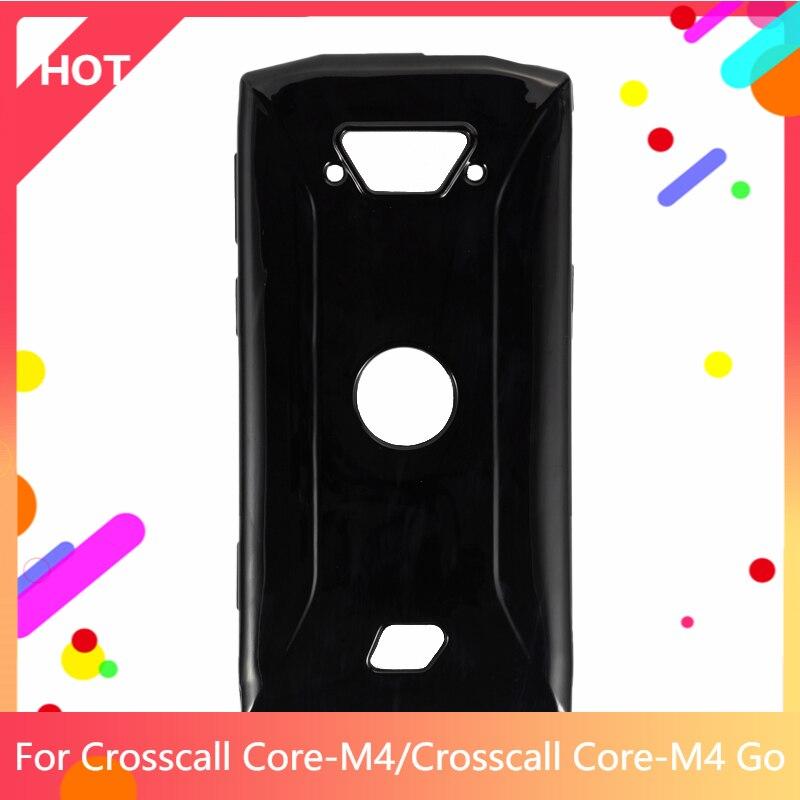 Core-M4 чехол Матовая Мягкая силиконовая задняя накладка из ТПУ чехол для Crosscall Core-M4 Go чехол для телефона чехол тонкий противоударный