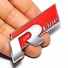 FlekShop-Emblema de línea R Universal, accesorio de Metal, para Golf, Polo