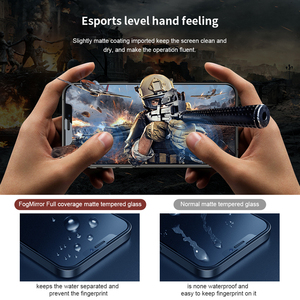 Image 5 - For iPhone 12 Pro Tempered Glass Full Coverage Matte Screen Protector For iphone 12 стекло Nillkin FogMirror Film