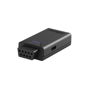 Adaptador receptor Mini 8BitDo Retro Para MEGA Drive, Sega Genesis para PS3, PS4, PS4 Pro, Wii Mote, Switch Pro, Joy-Con consola de juegos