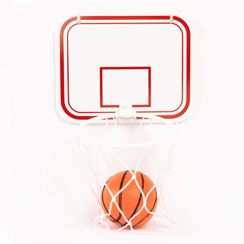 Mini Basketball Hoop Toys Kit Indoor Home Basketball Children's Indoor Hanging Punch-free Plastic Basketball Hoop