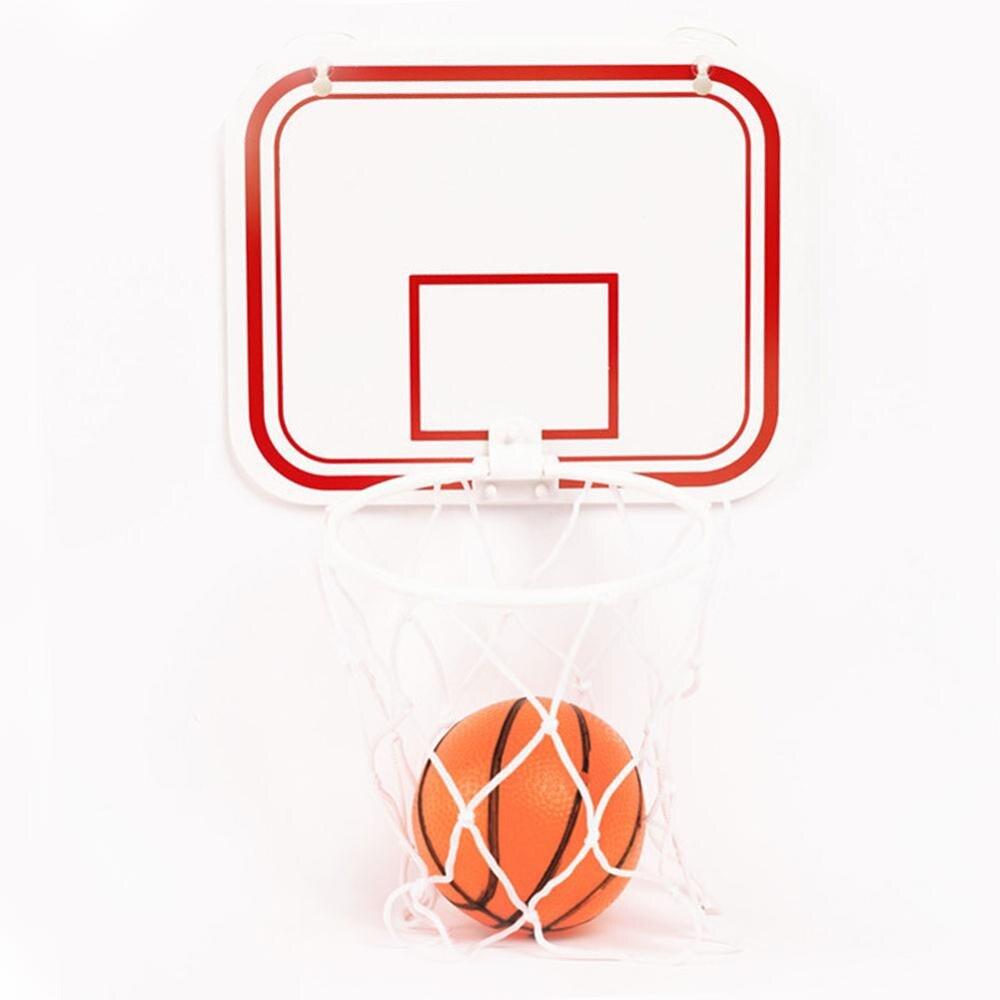 Mini Basketball Hoop Toys Kit Indoor Home Basketball Children's Indoor Hanging Punch-free Plastic Basketball Hoop