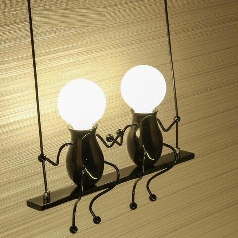 luzes de parede forchildren creativel crianca pequena sala de estar quarto lampada de cabeceira corredor