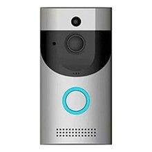 Smart Doorbell 2.4G Wireless Video Doorbell 720P HD Night Vision Doorbell Remote Intercom, Monitoring Alarm 1.2 MP