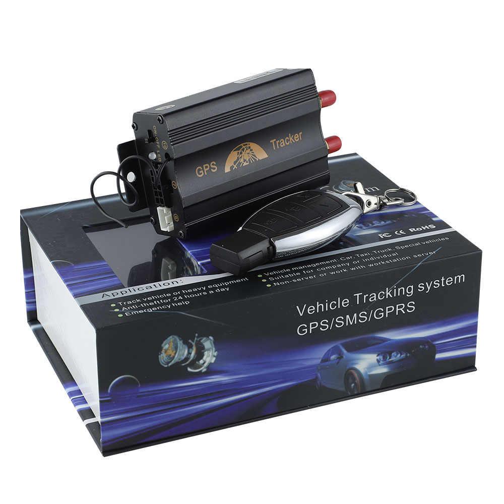 Новое поступление TK 103B автомобиля GPS 3G Wcdma (850 МГц/1900 МГц/2100 МГц) с мобильный телефон APP автомобильные GPS трекер