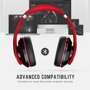 Image 5 - Mpow Best 059 Headphones Wireless Bluetooth 4.0 Headphone Built in Mic Soft Earmuffs Noise Cancelling Stereo Headset For Phones