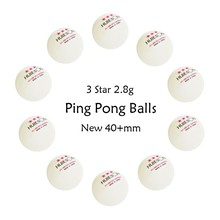 Table-Tennis-Balls Ping-Pong Huieson 3-Star 1 for 40--Mm 10pcs Abs-Plastic New