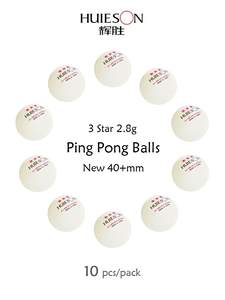Table-Tennis-Balls Ping-Pong Huieson Abs-Plastic New 3-Star 1 for 40--Mm 10pcs