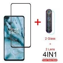 Protetor de Tela de Vidro Vidro temperado Para OnePlus Nord Nord 9H Premium de Vidro Temperado Para OnePlus Película Protetora