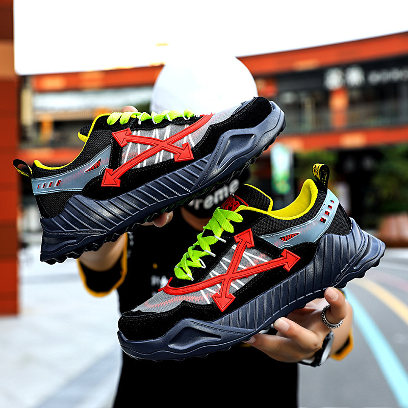 New Street Chunky Sneakers Men Shoes Summer Mesh Breathable Running Fitness Sport Shoes Women Platform Outdoor Walking Sneakers