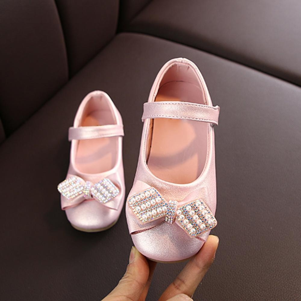 Spring Summer Baby Girls Big Children's Princess Peas Shoes High Quality Kids Girl Shoes
