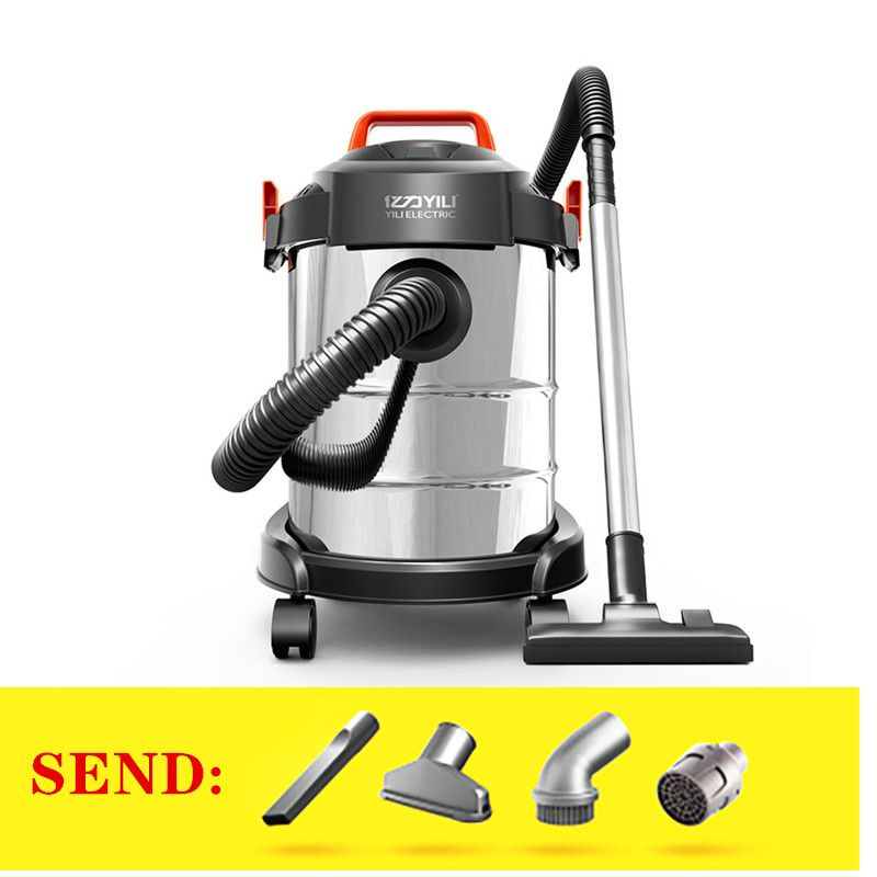 Household high power silent carpet vacuum cleaner 12L wet and dry bucket vacuum cleaner|Blowers| |  - title=