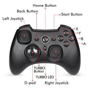 Image 3 - Manette de jeu sans fil 2.4G pour PS3 Ga mi ng manette de contrôle pour manette Android pour PC Xiao mi TV boîte téléphone jeu Pad Joypad
