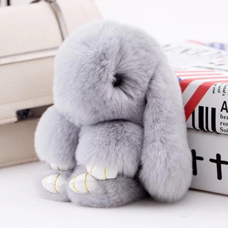 5200mAh Capacity Power Bank Plush rabbit External Battery USB Charger Portable mobile phone lovely Pendant
