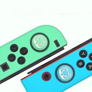 Image 4 - Thumb Stick Grip Cap Animal Crossing Joystick Cover Skin For Nintendo Switch NS Joy Con Nintend Joycon Controller Silicone Case