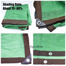 Anti-UV HDPE Green Sun Shading Net Outdoor Sunshade Net Garden Shelter Canopy Succulent Plant Gazebo Balcony Shade Netting Cloth