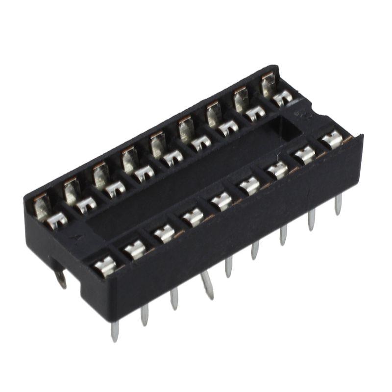 10 pcs DIP-28 28 PIN 28PIN DIP IC Sockets Adaptor Solder Type ASS
