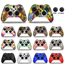 For Xbox Series X/S Controller Silicone Cover Rubber Skin Grip Case Protective For Xbox Series S Joystick Gamepad Accessories
