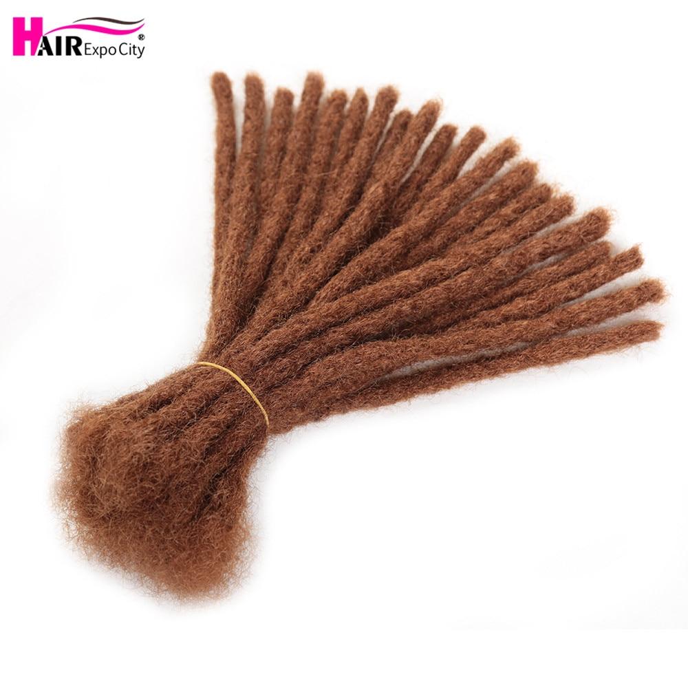 6-10inch Handmade Dreadlocs Hair Extensions Synthetic Braids Hair Crochet Braiding Hair For Africa Women And Men Hair Expo City
