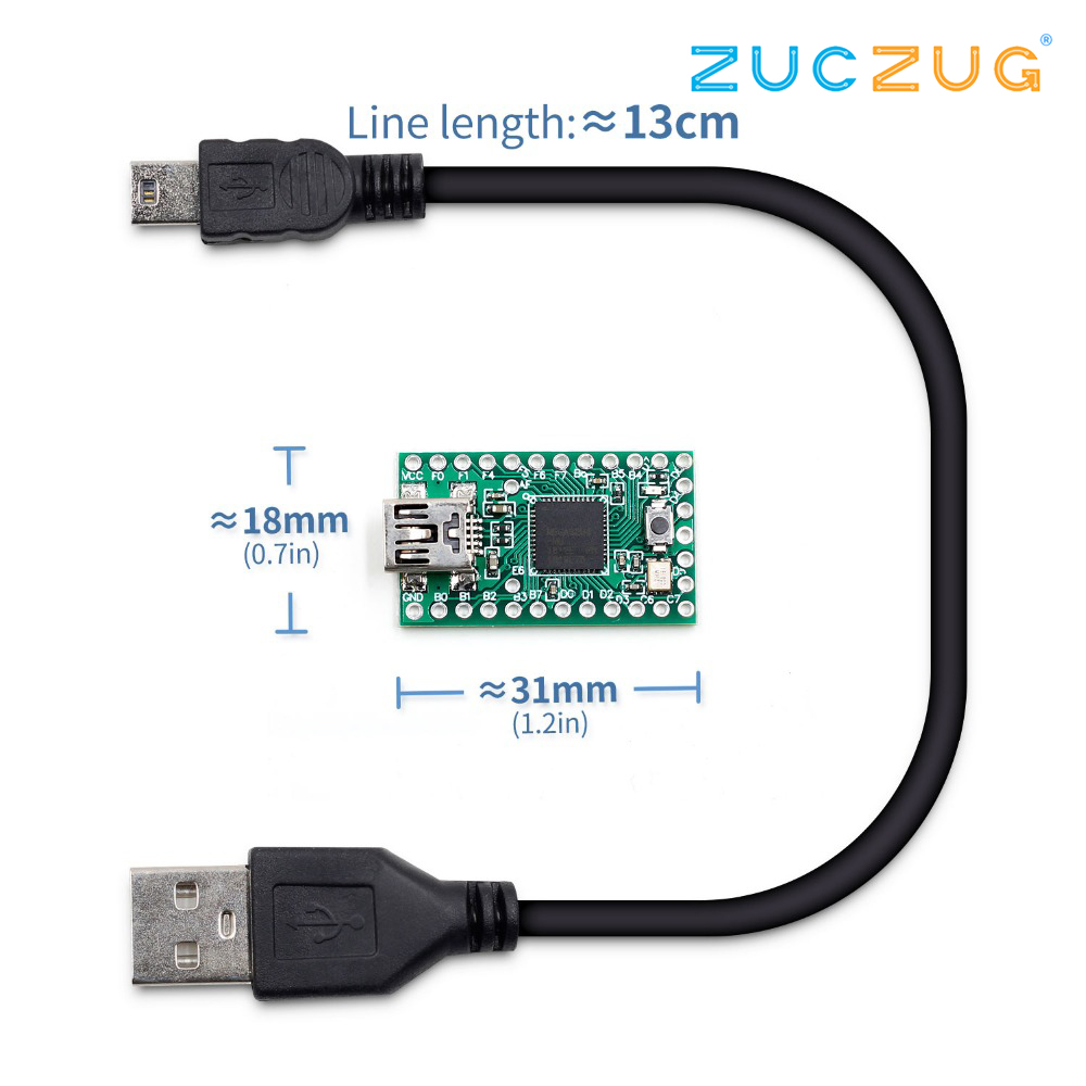 Teensy 2.0 Teensy USB Development Board