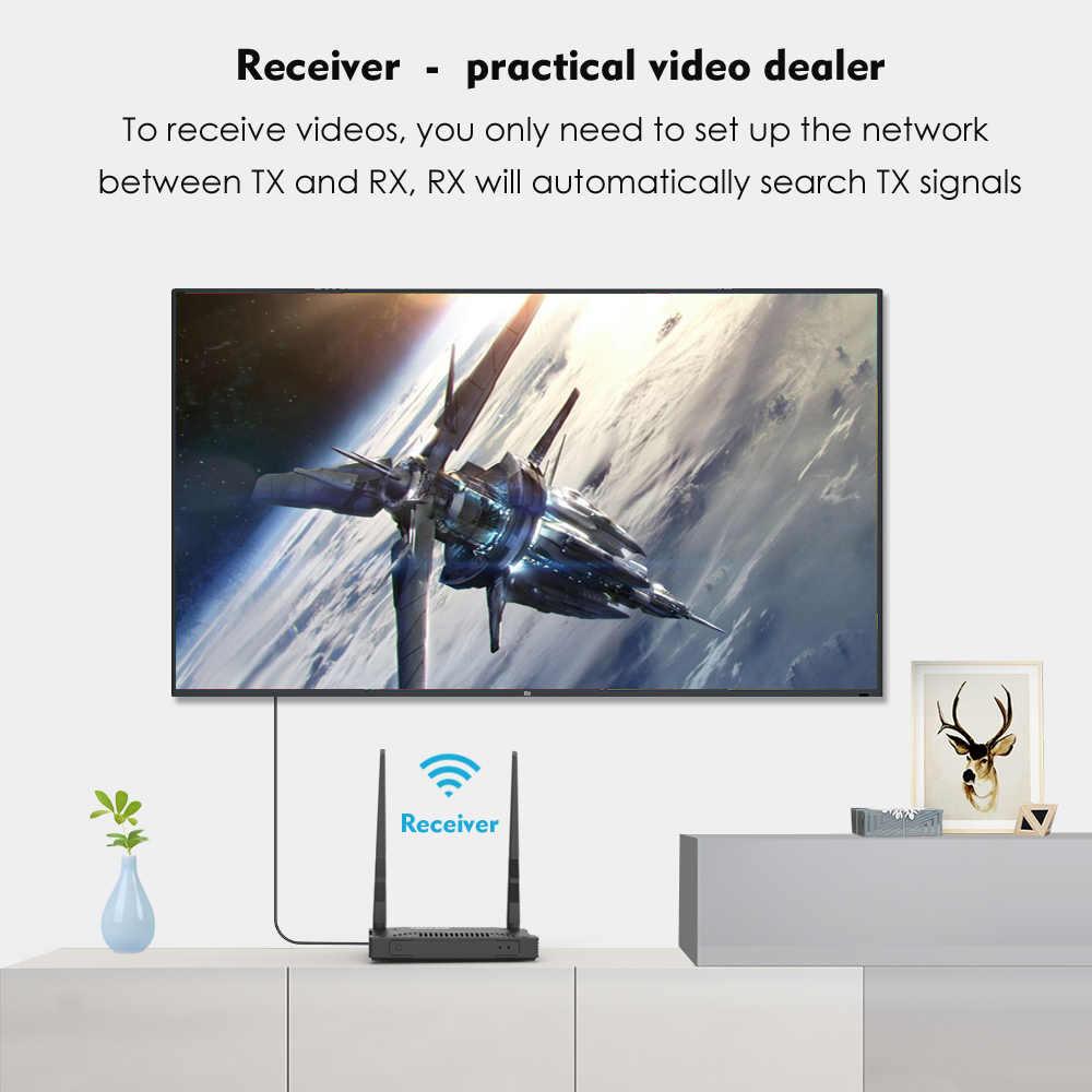 Wavlink 1000ft Không Dây Truyền Tải Video HD Hệ Thống Thu Sóng 5 Ghz Full HD 1920X1080 VGA Bộ Kéo Dài HDMI Không Dây VGA Bộ Phát