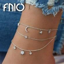 Fnio в богемном стиле Многослойные браслеты для женщин с рисунком