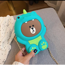 Summer Women Cartoon Shoulder Bags Female Handbags Silicone Messenger For Lady Fashion Crossbody Bucket Makeup Bag Hot Sale