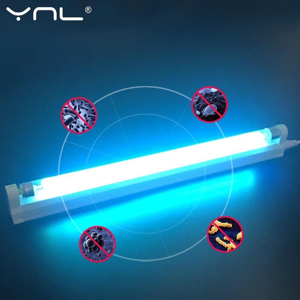 6W 8W 220V Ultraviolet Germicidal Light T5 Bulb UVC Quartz Ultraviolet Lamp Disinfection Sterilizer Deodor Bar Tube For Bedroom