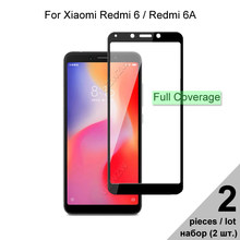 Защитное стекло для Xiaomi Redmi 6A / Redmi 6 полное покрытие закаленное стекло для Xiaomi Redmi 6 6A