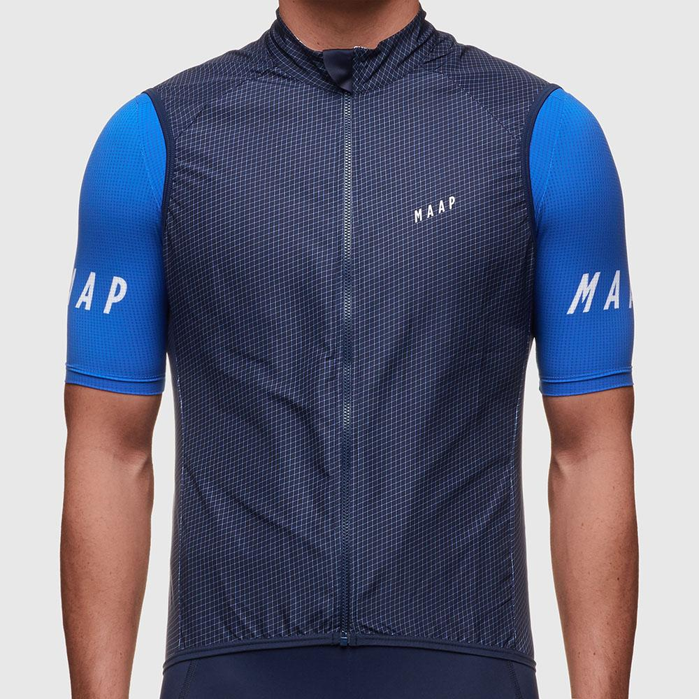 2019 Autumn Top Quality  MAAP Lightweight Windproof Cycling GILET Men Or Women Cycling Wind Vest 2.0 Cycling Outwear